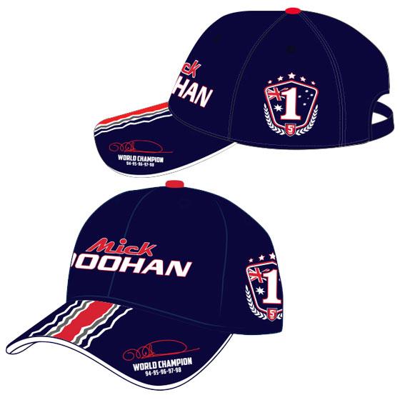 MICK DOOHAN '5 TIMES WORLD CHAMPION' EDITION CAP
