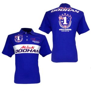 MICK DOOHAN '5 TIMES WORLD CHAMPION' EDITION POLO