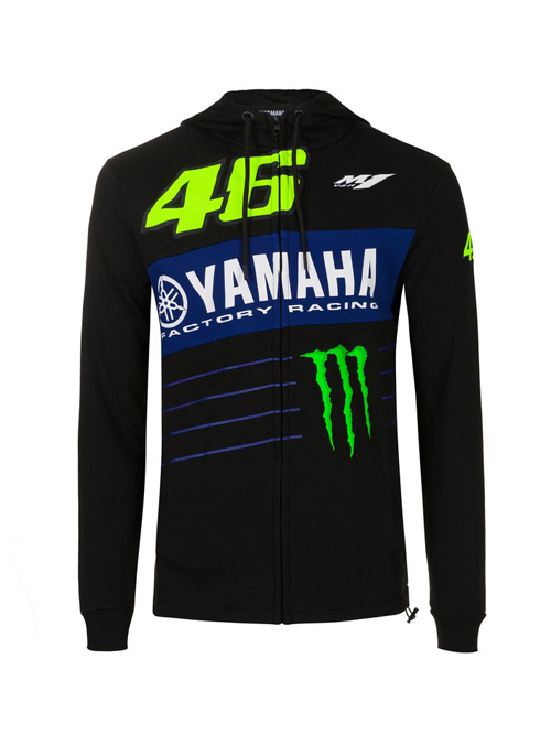 YMMFL396604_VALENTINO_ROSSI_DUAL_YAMAHA_POWER_LINE_MENS_HOODED_FLEECE