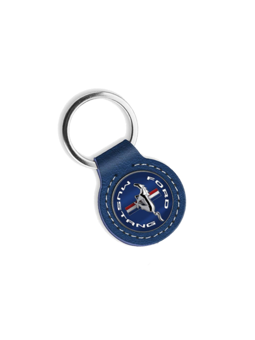 FM20A-466_FORD_MUSTANG_LEATHER_KEYRING