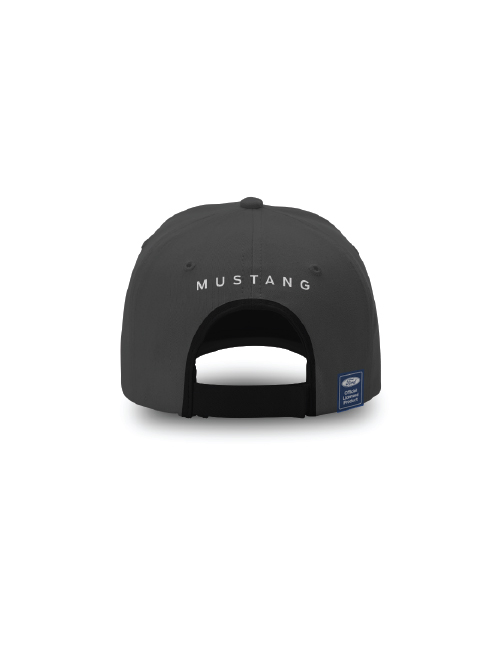FM20H-455_FORD_MUSTANG_ADULTS_METAL_HORSE_CAP_BACK