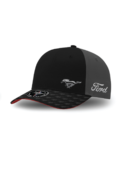 FM20H-455_FORD_MUSTANG_ADULTS_METAL_HORSE_CAP_FRONT