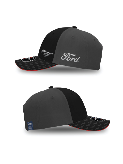 FM20H-455_FORD_MUSTANG_ADULTS_METAL_HORSE_CAP_SIDES