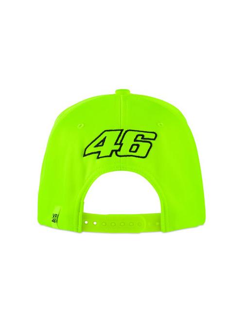Valentino Rossi Yellow VR46 Racing Kids Snapback Cap