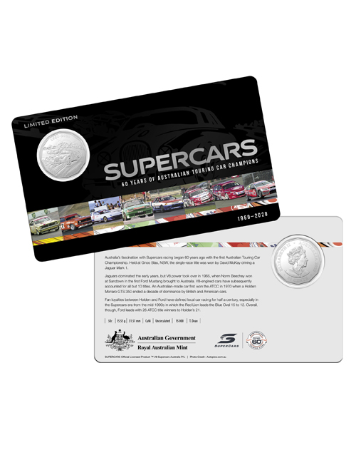 10502-60YRS-SUPERCARS-COIN-COLLECTION-SUPERCARS